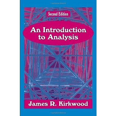 An Introduction to Analysis, Second Edition, (9781577662327)