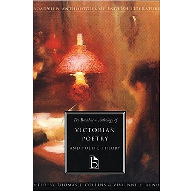 The Broadview Anthology of Victorian Poetry & Poetic Theory (Anthologies of English Literature Series) Used Book (9781551111001)