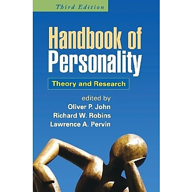 Handbook of Personality, Third Edition: Theory and Research, New Book (9781593858360)