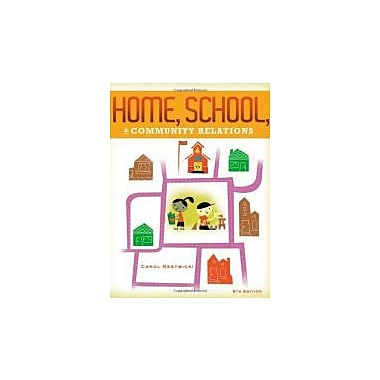 Home, School, and Community Relations, New Book (9781111833237)
