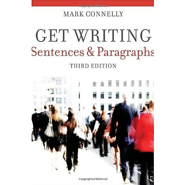 Get Writing: Sentences and Paragraphs, Used Book (9781111772161)
