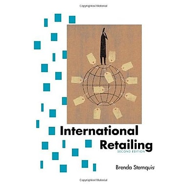 International Retailing Second Edition, New Book (9781563674907)