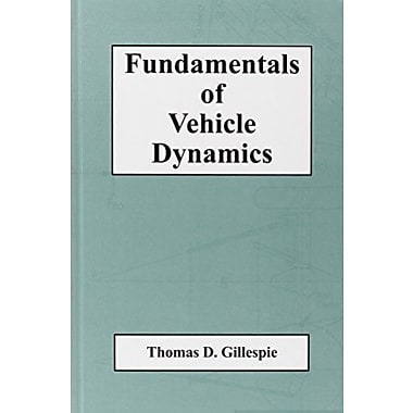 Fundamentals of Vehicle Dynamics (R114), New Book (9781560911999)