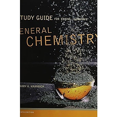 Study Guide for Ebbing/Gammon's General Chemistry, 10th, Used Book (9781111989408)