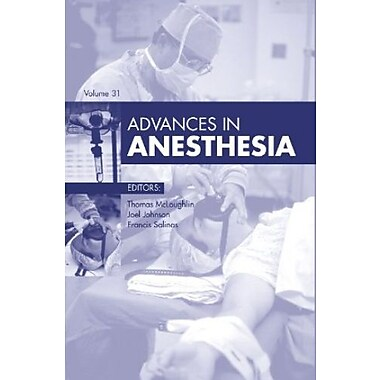 Advances in Anesthesia, 1e, New Book (9781455772704)