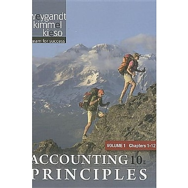 Paperback Volume 1 of Accounting Principles Chapters 1-12, New Book (9781118009277)