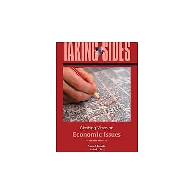 Taking Sides: Clashing Views on Economic Issues, New Book (9780073527345)