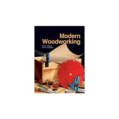 Modern Woodworking, New Book (9781590704813)