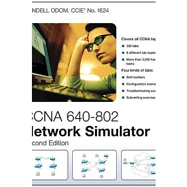 CCNA 640-802 Network Simulator (2nd Edition), Used Book (9781587204449)