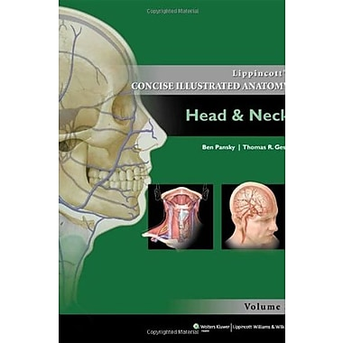 Lippincott Concise Illustrated Anatomy: Head & Neck (Lippincott's Concise Illustrated Anatomy), New Book (9781609130275)
