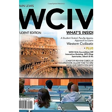 WCIV (with Review Cards with CourseMate, Wadsworth Western Civilization Resource Center (9781111341800)