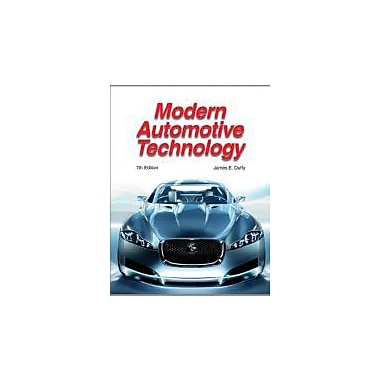 Modern Automotive Technology, New Book (9781590709566)