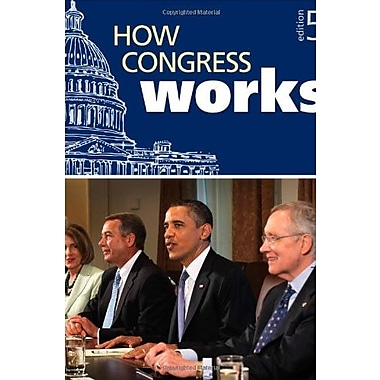 How Congress Works, New Book (9781608719112)