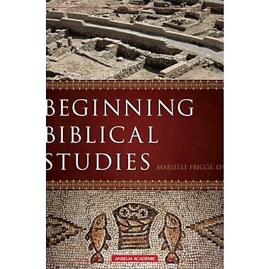Beginning Biblical Studies, Used Book (9781599820026)