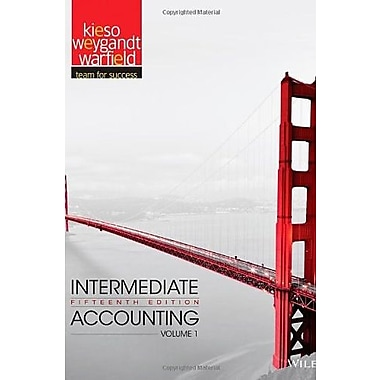 Intermediate Accounting (Volume 1), New Book (9781118147276)