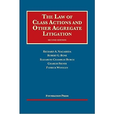 The Law of Class Actions and Other Aggregate Litigation, 2d (University Casebook Series), New Book (9781609302702)
