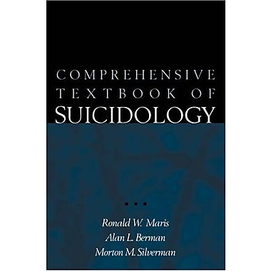 Comprehensive Textbook of Suicidology, Used Book (9781572305410)