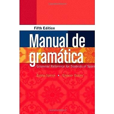 Manual de gramAitica, New Book (9781111836818)