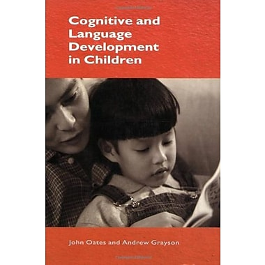Cognitive and Language Development in Children, New Book (9781405110457)
