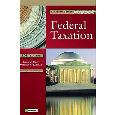 2011 Federal Taxation (with H&R BLOCK At Home(TM) Tax Preparation Software CD-ROM), Used Book (9781111221614)
