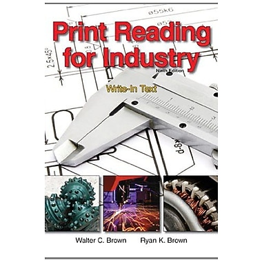 Print Reading for Industry, (9781605253084)