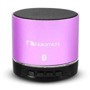 Nakamichi® BT06 Round Bluetooth Speaker, Purple