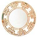 Abbyson Living Zentro Wall Mirror; Gold