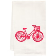 Artgoodies Organic Bike Block Print Tea Towel