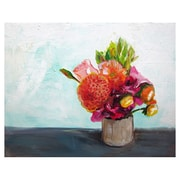 Mai Autumn Summer Bouquet by Christine Lindstrom Painting Print; 11'' H x 14'' W