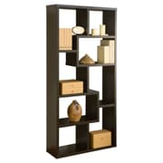 Furniture of America Highpoint Contoured Bookcase