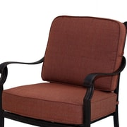 Darlee St. Cruz Club Chair Seat and Back Cushion; Sesame