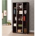 Wildon Home   70.75'' Bookcase; Cappuccino