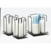 Cal-Mil Rotating Cup and Lid Display; Medium