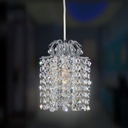Allegri Milieu Mini Pendant 1 Light Crystal Mini Pendant; Swarovski Elements Multi-Color