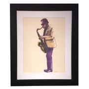 Art Master Cool Jazz Modern Frame by Jeeyun Lee Painting Print