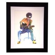 Art Master Strumming Modern Frame by Jeeyun Lee Painting Print