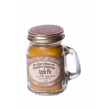 OOCC Soy-Based Mini Mason Jar Candles, 24/Pack
