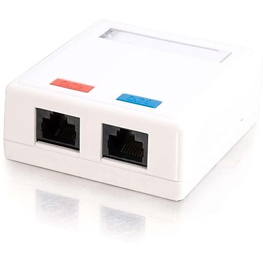 C2G 3837 Socket Cat 5e Surface Mounting Box