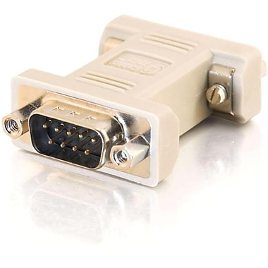 C2G 8075 DB9 Male to DB9 Female Serial RS232 Null Modem Adapter