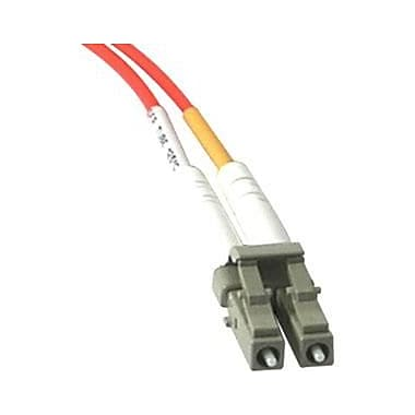 C2G 33157 16.4' Duplex Multimode Fiber Optic Cable, Orange