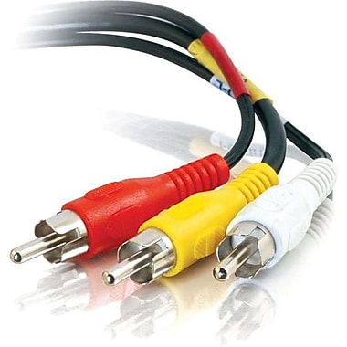 C2G 40450 25' Male to Male Audio/Video Cable