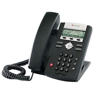 Polycom Soundpoint 331 Ip Phone, Cable, Wall Mountable, Desktop