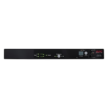APC AP7750A 50-60 Hz 10-Outlets Rack Mount Transfer Switches