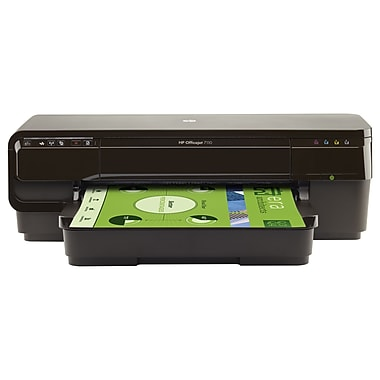 Hp Officejet 7110 Inkjet Printer, Colour, 4800 X 1200 Dpi Print, Plain Paper Print, Desktop