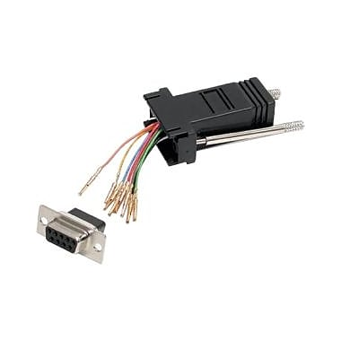 Startech.Com® Modular Adapter, Serial, Db-9 (F), Rj-45 (F)
