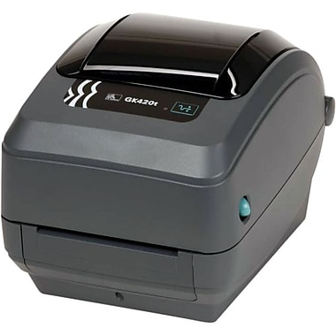 Zebra Gk420T Direct Thermal/Thermal Transfer Printer, Monochrome, Desktop, Label Print (GK42-102210-000)
