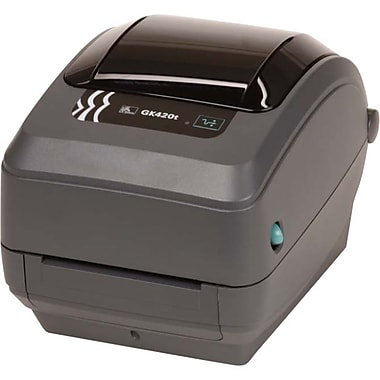 Zebra Gk420T Thermal Transfer Printer, Monochrome, Desktop, Label Print