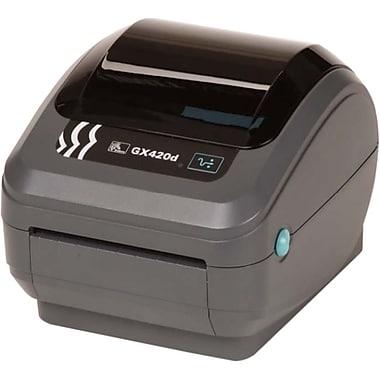Zebra Gx420D Direct Thermal Printer, Monochrome, Desktop, Label Print (GX42-202710-000)