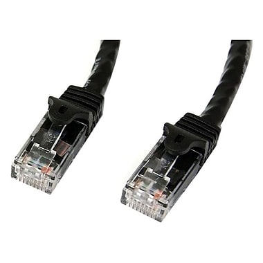 StarTech.com® N6PATCH5BK 5' Cat 6 Snagless Patch Cable, Black