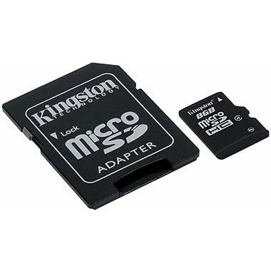 Kingston 8GB Microsdhc Card, (Class 4)